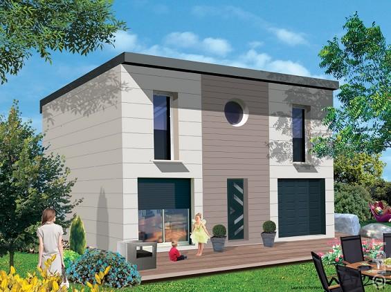 Pavillon R+1 simple